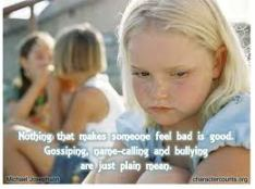 Bullying is not okay